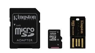 Kingston Digital Mobility Kit - 32GB MicroSD, SD Card Reader, & USB Reader