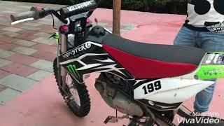 Usciamo di nuovo il pit bike 140 , speciale 120 iscritti