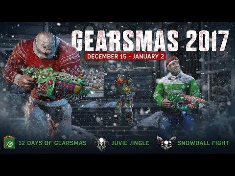 «Новогоднее» обновление для Gears of War 4 с новыми режимами и предметами