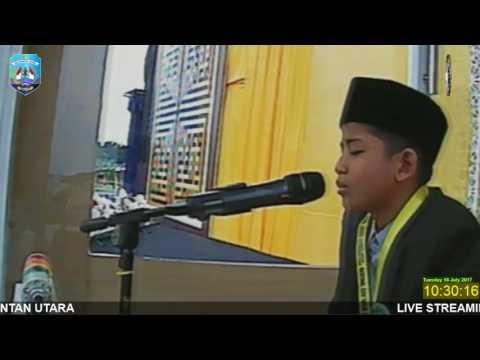 M Ammar Fathani di STQN ke XXIV tahun 2017 di Tarakan Kaltara