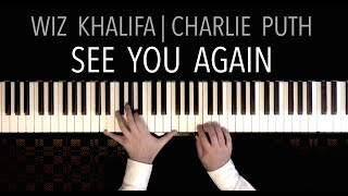 Wiz Khalifa/Charlie Puth - See You Again (featuring 'Amazing Grace') | Piano Cover
