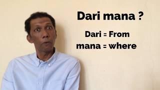 Speak Malay Like A Malay - Simple dialogue