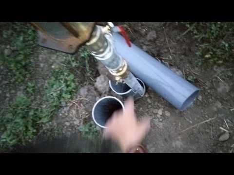 Déboucher un puits piqué