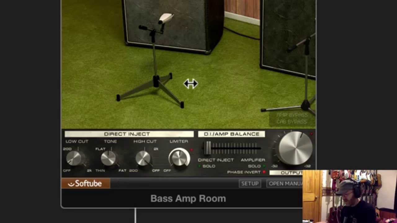 softube bass amp room plugin review youtube. Black Bedroom Furniture Sets. Home Design Ideas