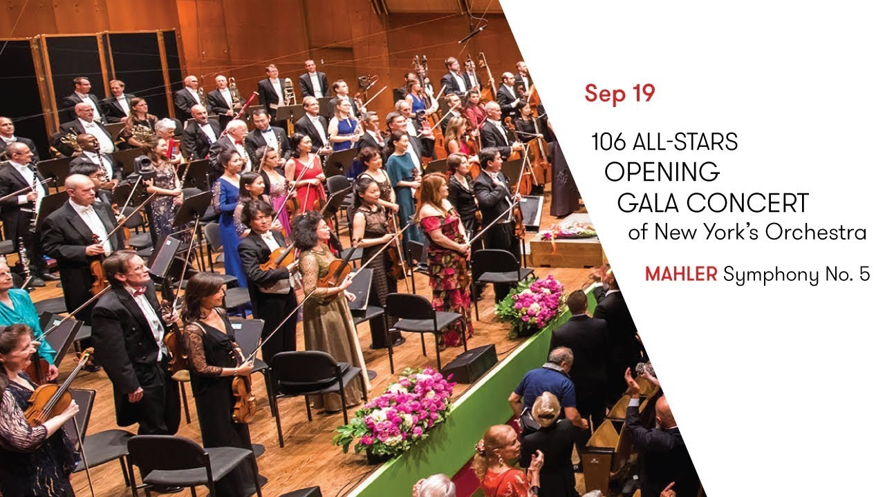 106 All-Stars: Opening Gala Concert of New York's Orchestra