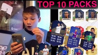 TOP 10 PACKS OF FUT 18!!! /Pacybits 18