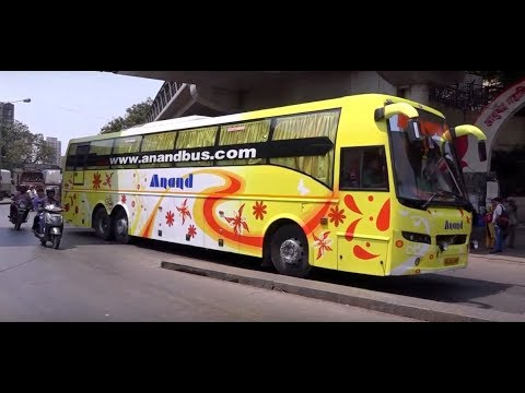 Over 3 Dozen Compilation Of Volvo & Scania Buses in Mumbai & Jamnagar !!!