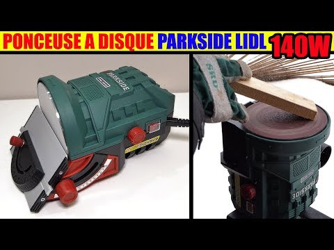 ponceuse a disque parkside lidl ptsg 140 b2 Disc Sander Tellerschleifgerät