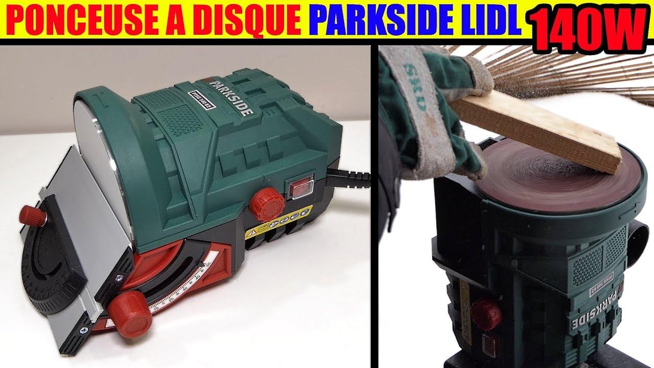 Ponceuse a disque parkside lidl ptsg 140 b2 disc sander for Levigatrice a penna multifunzione parkside