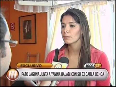 Yanina Halabi Pato Laguna junta a Ya...