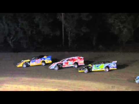 HEAT OF THE NIGHT: USMTS Casey's Cup Series @ Shady Oaks Speedway 2/11/16 - dirt track racing video image