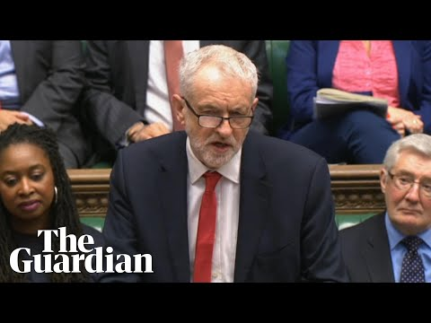 Jeremy Corbyn confronts Boris Johnson over deportation and Windrush