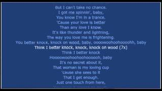 AMII STEWART Knock on wood lyrics