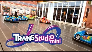 Naik Odong Odong di Trans Studio Mini Solo