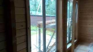 Видео обзор коттеджа из бруса - 3