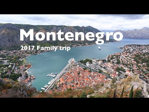 Family trip 2017 Montenegro, Dubrovnik, travel movie HD