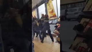 Frankenthaler Polizeigewalt im Einkaufszentrum