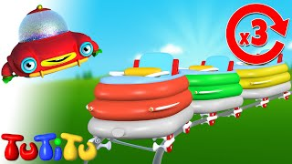Roller Coaster - Learn how to build TuTiTu toys | One more time video for babies