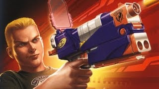 Classic Game Room HD - NERF N-STRIKE ELITE for Nintendo Wii review