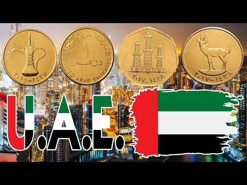 United Arab Emirates Dirhams and Fils High Value Coins
