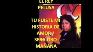karaoke de el rey pelusa tu fuiste mi historia de amor/ sera oro Mañana