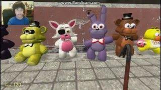 Gmod Five Nights at Freddy