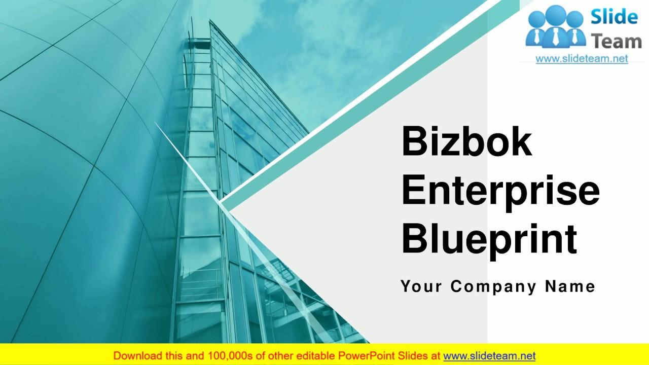 Bizbok Enterprise Blueprint PowerPoint Presentation Slides