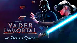 The Force is strong with Vader Immortal on Oculus Quest