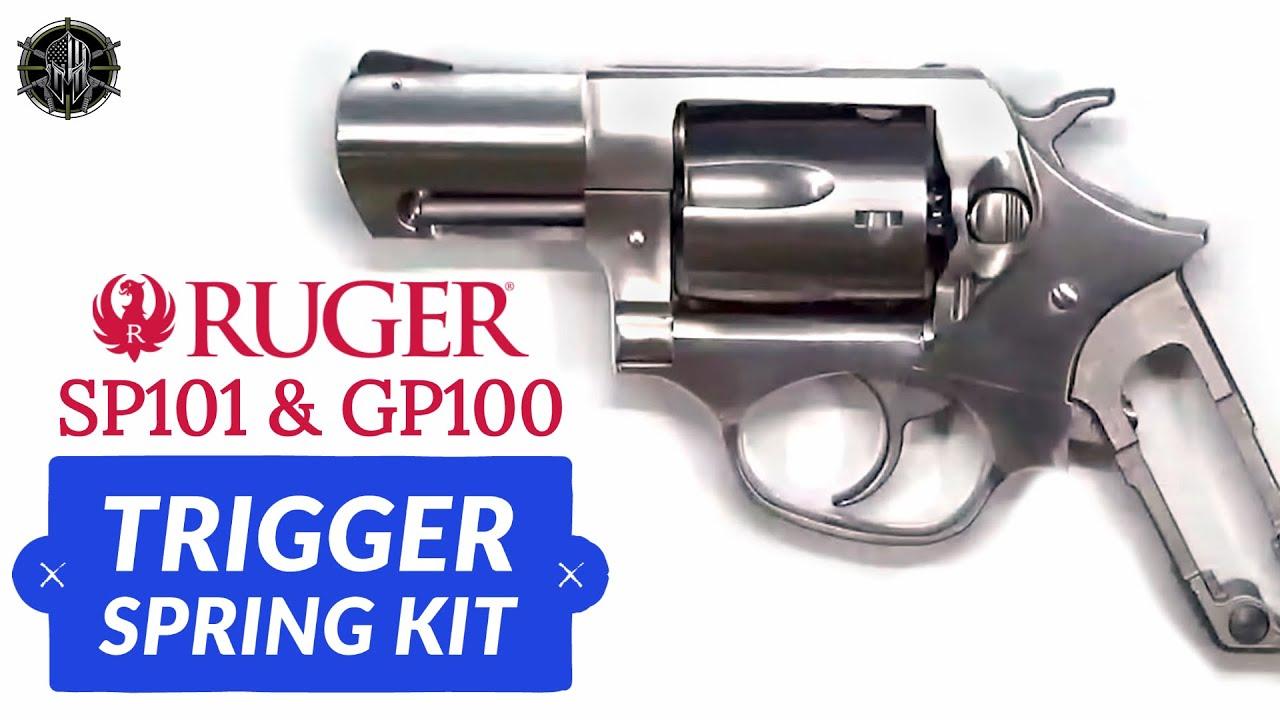 Ruger Sp101 Amp Gp100 Trigger Spring Kit