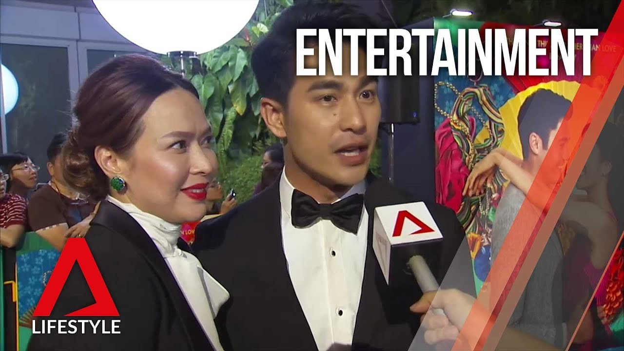 Crazy Rich Asians Singapore premiere | CNA Lifestyle