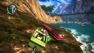Just Cause 2 Boats and Cars are fun