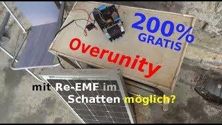 Overunity im Schatten mit Re-EMF möglich? 200% Gratis