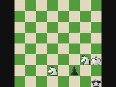 P.L. Chess Endgame Course #30 Knight Checkmate