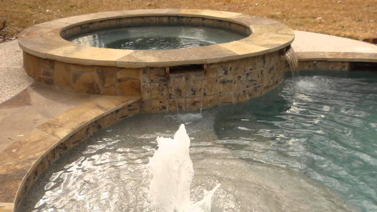 Houston Pool Builder Simplicity Pools Spas Youtube