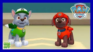 PAW Patrol Rescue Run - Zuma and Rocky - Save the Day The Bay!