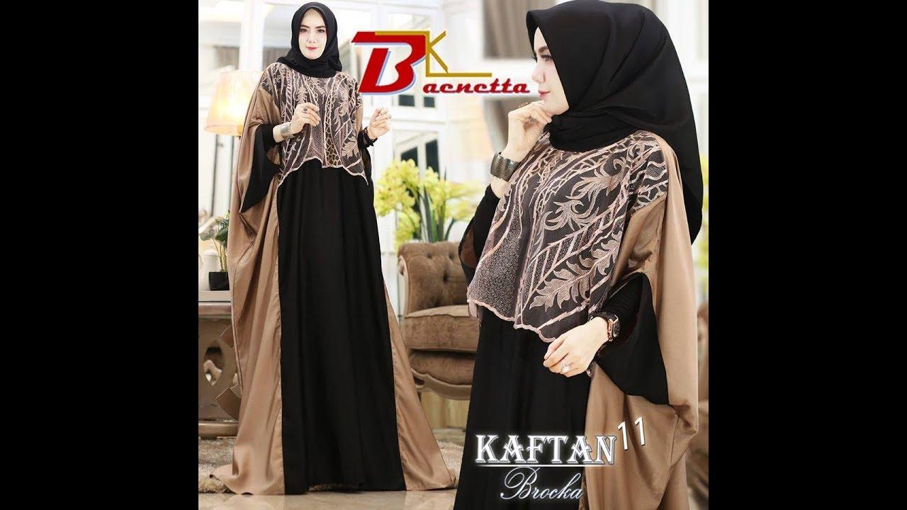 Model Baju Kaftan 10 - Kaftan Brokat Modern Cocok Untuk Wanita