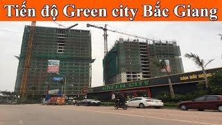 Tiến độ chung cư Green city Bắc Giang ngày 10/07 I Chuẩn bị cất nóc