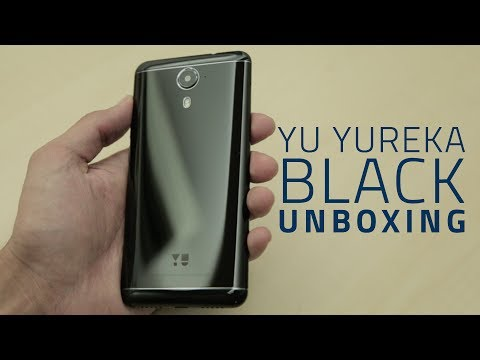 wholesale dealer c6e6b ec453 Yu Yureka Black Unboxing and First Look   Price, Specifications, and ...