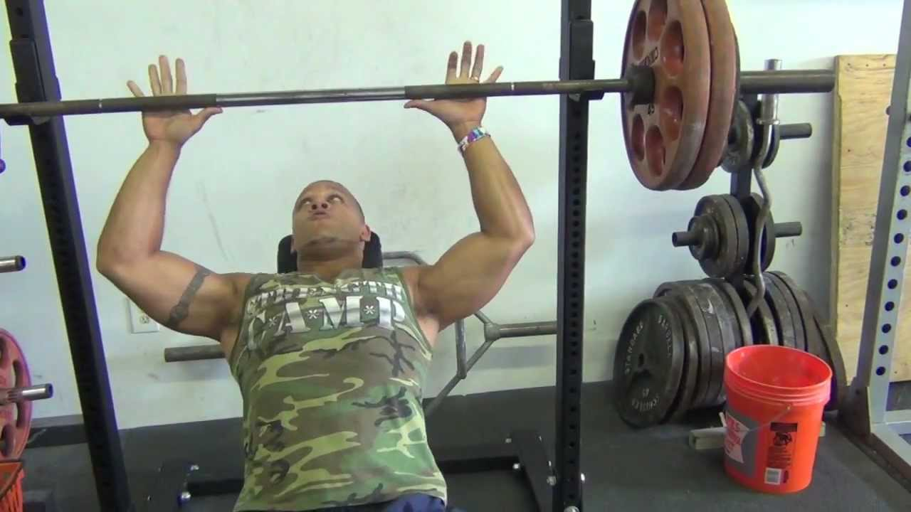 Heavy Bench Press Videos Part - 16: Heavy Incline Bench Press Workout (5 X 2) - YouTube