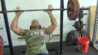 Heavy Incline Bench Press Workout (5 x 2)
