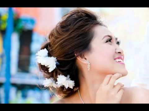 Wedding Hairstyles for a Round Face - YouTube