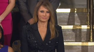 See How First Lady Melania Trump Gets That Sun-Kissed Hair Look