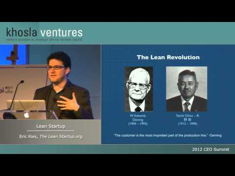 Lean Startup - Eric Ries, Author of The Lean Startup