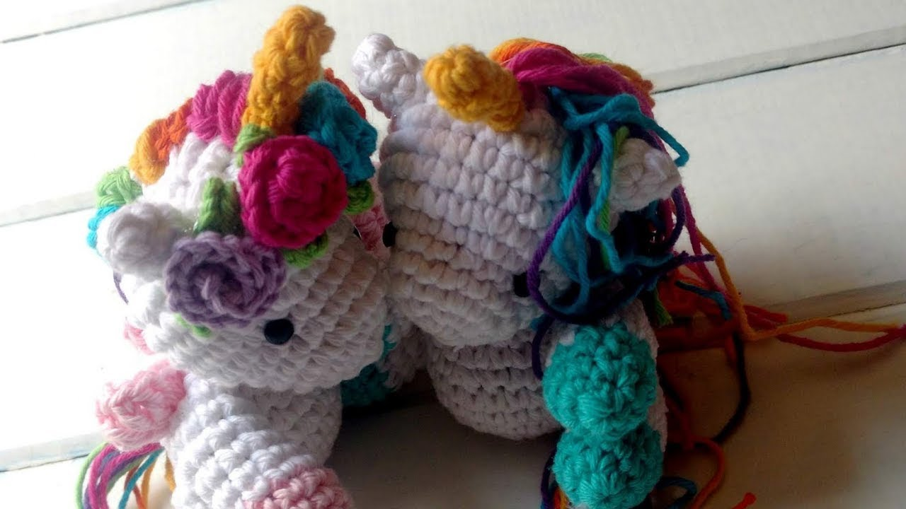 Amigurumi Baby Unicorn or Pegasus