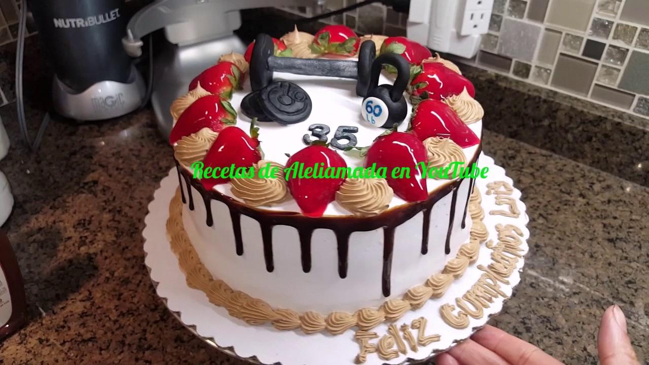 Decoracion de pasteles ideas tema gimnasio youtube - Decoracion de gimnasios ...