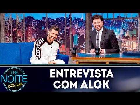 Entrevista com Alok | The Noite (21/09/18)