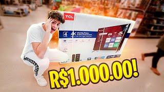 Comprei Uma Tv Pela Metade Do Preço Na Black Friday  *1000 Reais* ‹ Jonvlogs ›