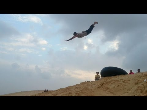 Exercise daily team spider Gaza Parkour Part 2
