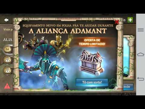 Dungeon Hunter 5 - Abrindo Baú Adamant