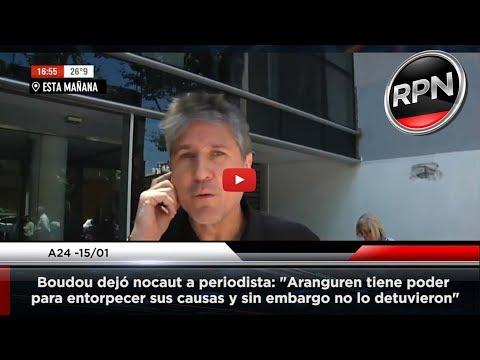 Download Youtube: Amado Boudou dejó nocaut a periodista de A24